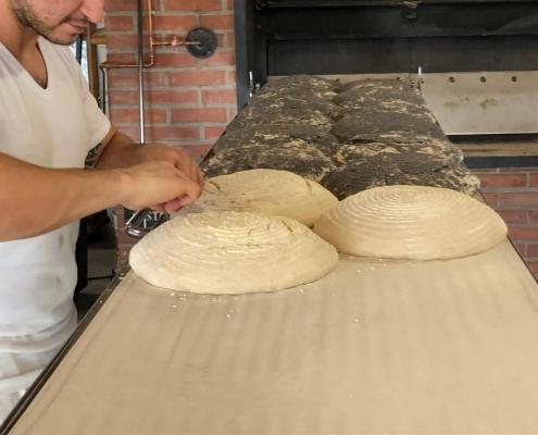 fasi di impasto pane biologico