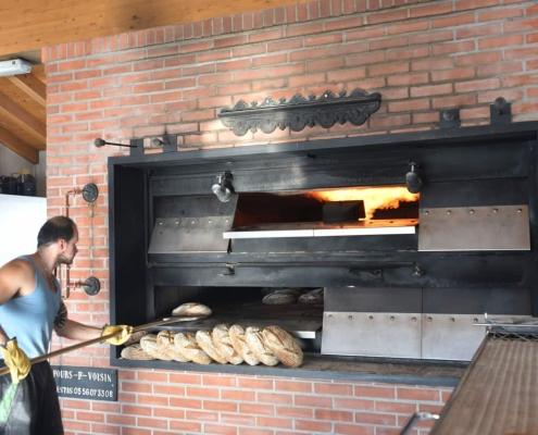 infornamento del pane