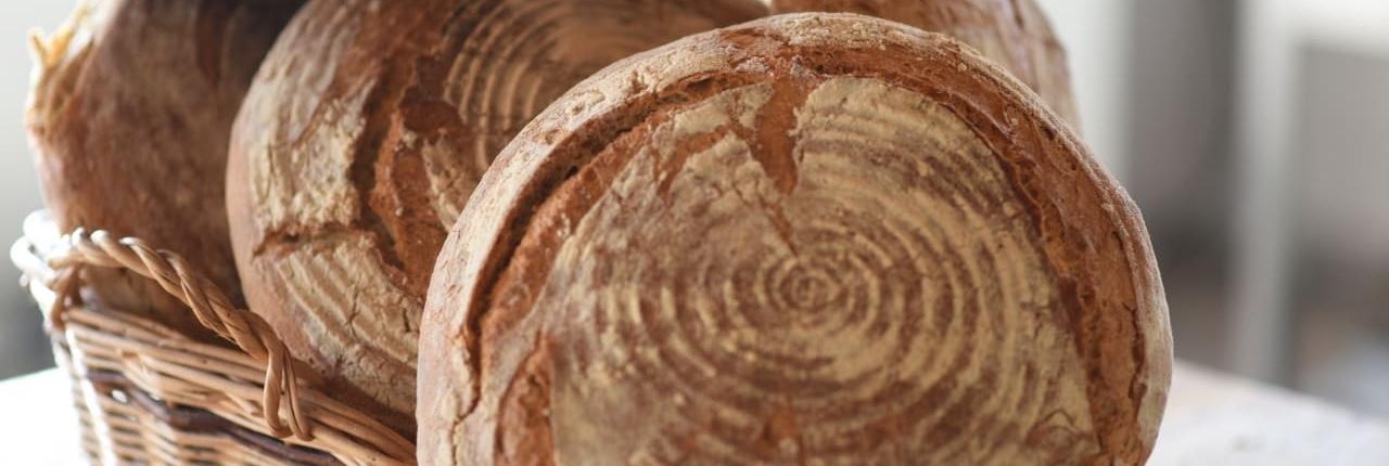 pane biologico semi integrale di frumento